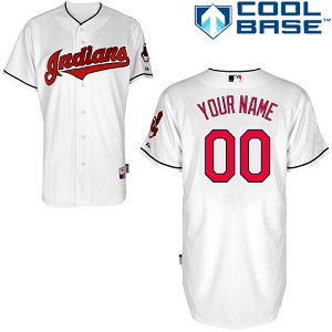 Cleveland Indians Personalized Kids Official Jersey