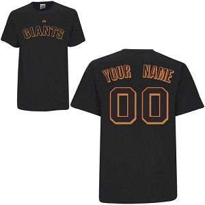 San Francisco Giants Kids Personalized Shirt