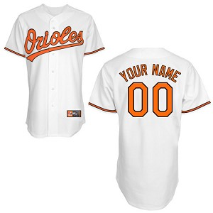 Baltimore Orioles Personalized Adult Majestic Jersey