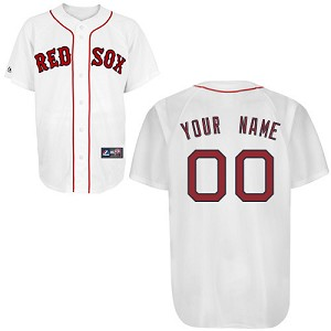 Boston Red Sox Personalized Home Jersey