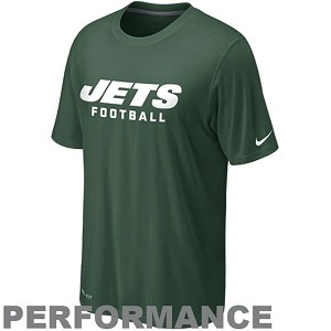 Jets Dri Fit Nike Performance Shirt
