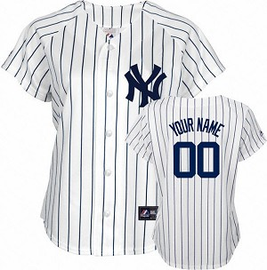 Yankees Women's Personalized Home Jersey