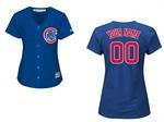 Cubs Womens Personalized Royal Jersey