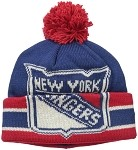 New York Rangers Logo Cuffed Winter Hat