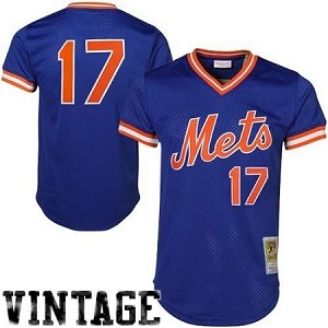 New York Mets 1986 Keith Hernandez Authentic Batting Practice Jersey
