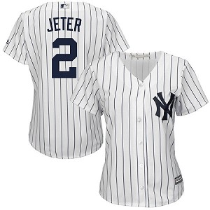 Derek Jeter Official Womens Jersey